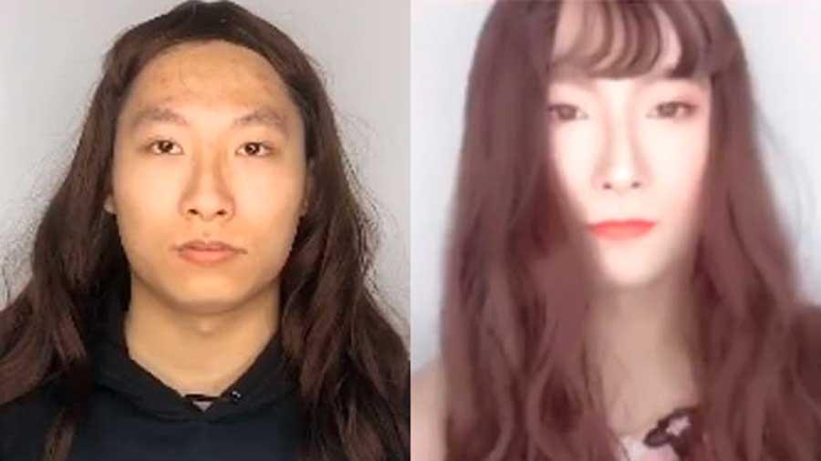 Un policier se déguise en femme pour mettre en garde contre les faux profils sur les réseaux sociaux