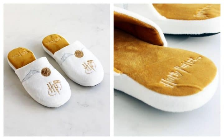 chaussons harry potter