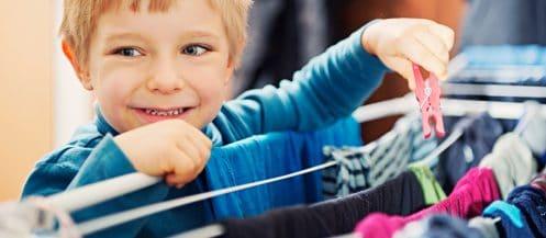 Donner des corvées aux enfants est important