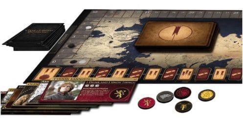 Game of Thrones : Un nouveau jeu de société