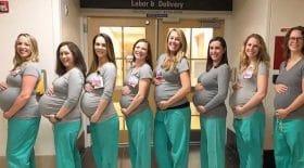 infirmières enceintes en même temps