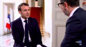 Macron Rai Uno