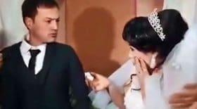 le mari gifle la mariée