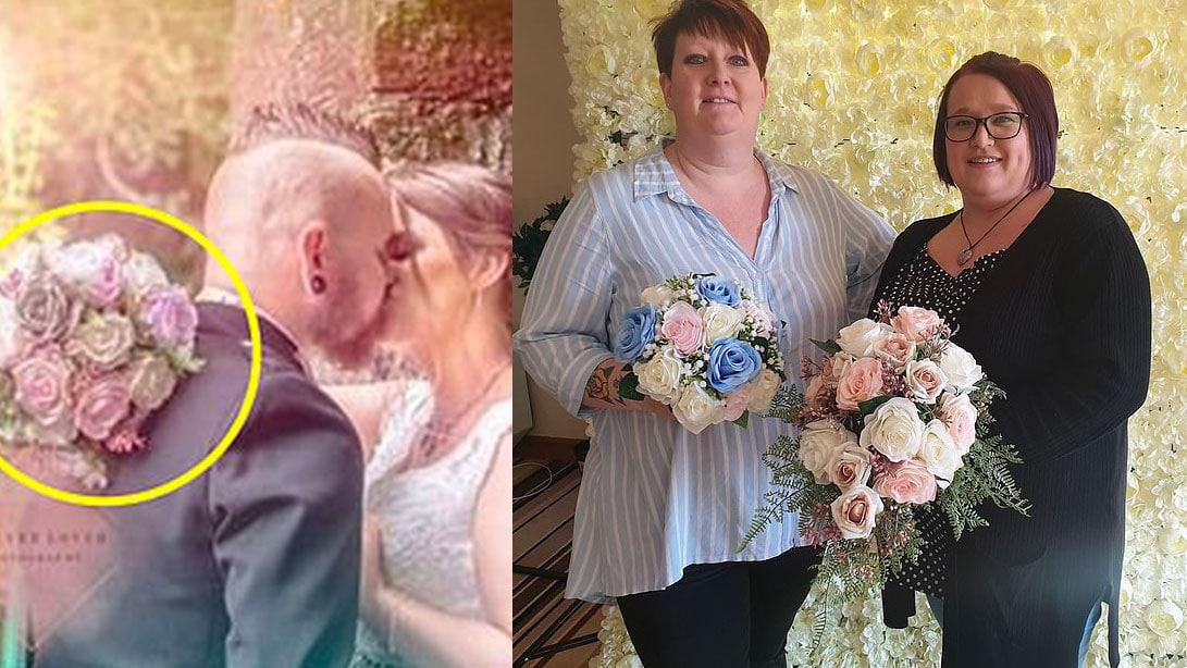 Trahie par une photo sur Facebook, la mariée n'aurait pas dû demander remboursement pour son bouquet manquant