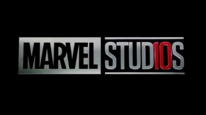 logo 10 ans marvel studios