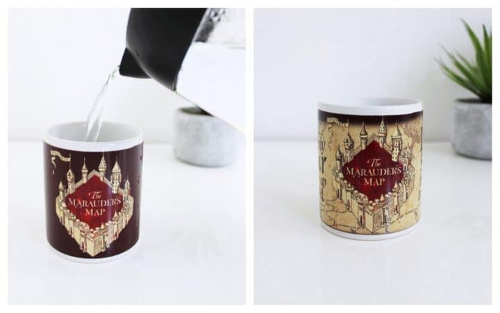 mug thermoréactif harry potter