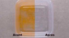 nettoyer tupperware astuce