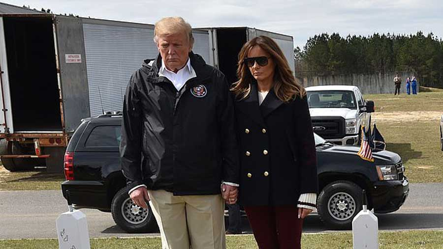 Les internautes sont persuadés que le sosie de Melania Trump a de nouveau pris sa place