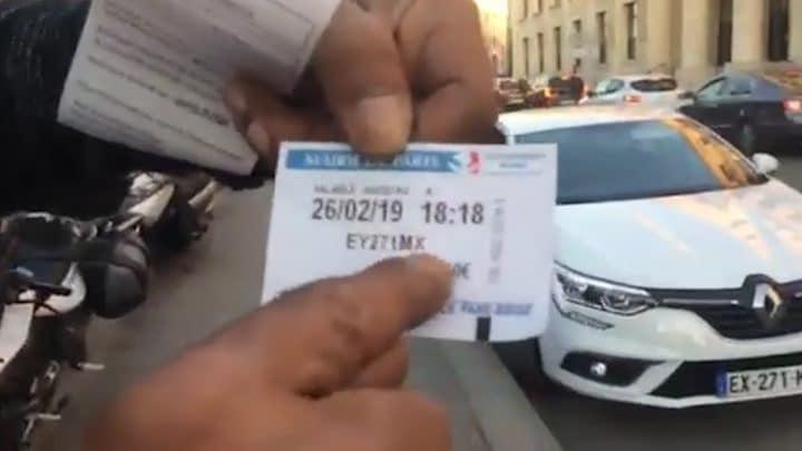 ticket Porte Versailles