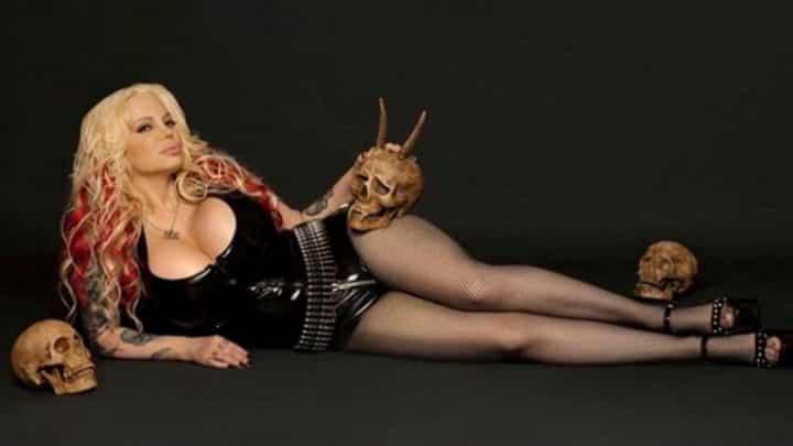 actrice X sataniste