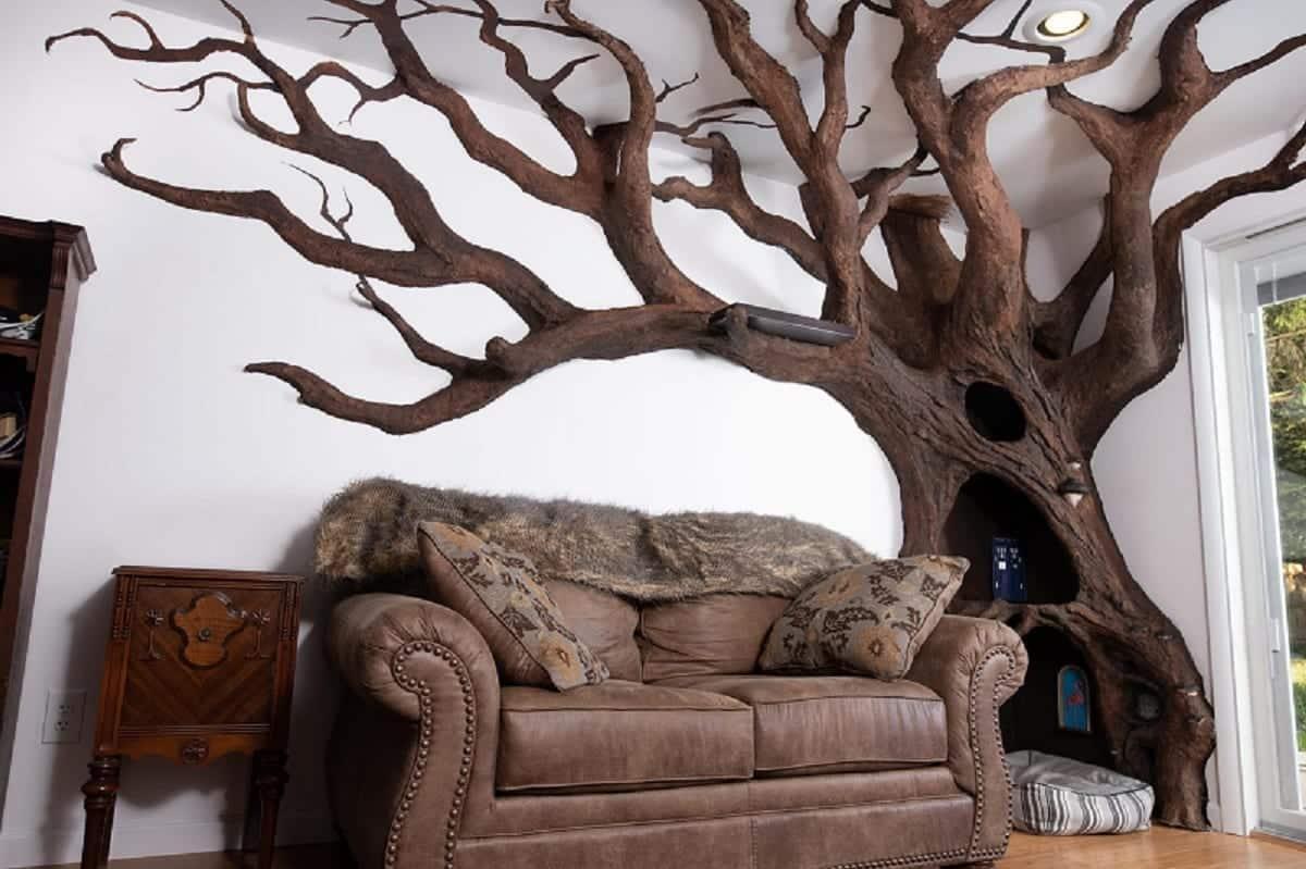 Arbre A Chat A Faire Maison votre arbre à chat ne vaut rien face à celui dessiné par cet