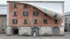Bâtiment zippé Milan