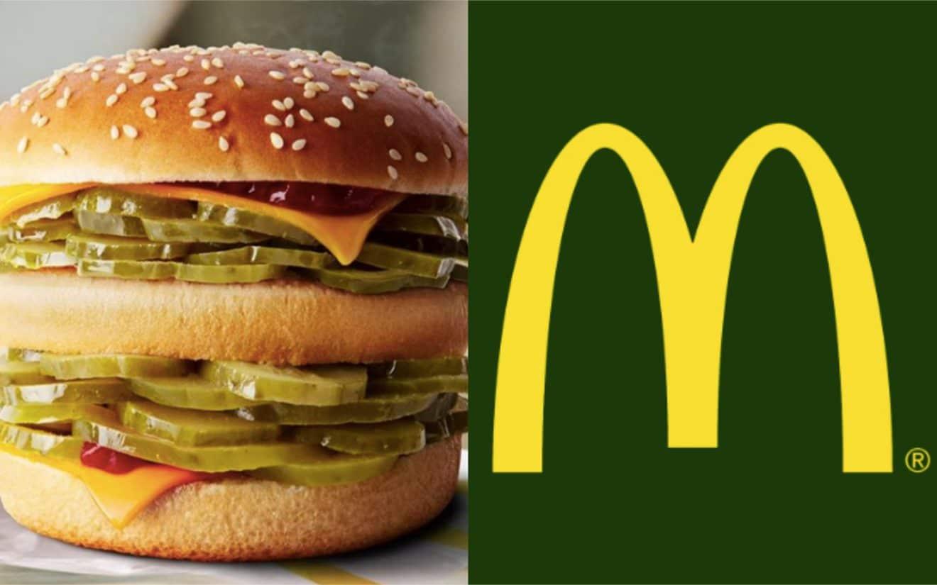 un nouveau burger chez mcdonald u0026 39 s   pour le 1er avril  le g u00e9ant du fast