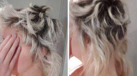 désastre capillaire cheveux décolorés procès