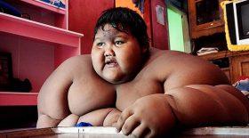 enfant le plus gros au monde a perdu du poids