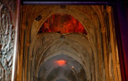 Intérieur Notre-Dame de Paris