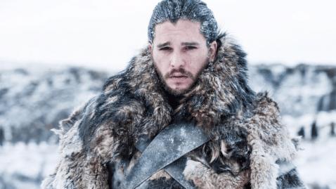 La peur bleue qu'à eu Kit Harington sur le tournage de Game of Thrones