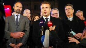 Macron Notre-Dame