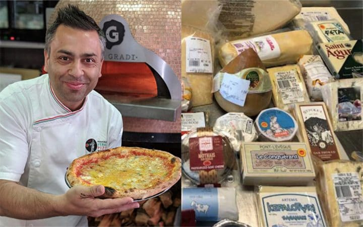 Gastronomie: Un chef a créé une pizza aux 154 fromages