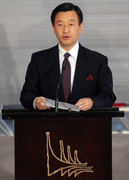 Prince héritier Naruhito