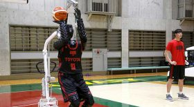 robot basket tir panier
