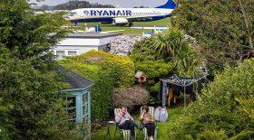 avions dans le jardin taxiway