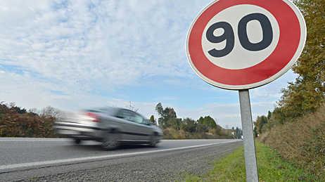 Un retour des 90 km/h, les départements pourront choisir