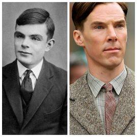 Alan Turing et Bennedict Cumberbatch