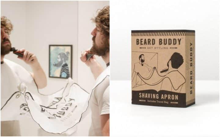 Cadeaux fête des pères bavoir à barbe