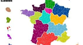 carte france dpeartement