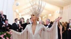 Céline Dion et sa robe scintillante pour le Met Gala 2019