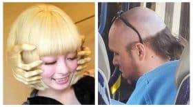 coiffures improbables