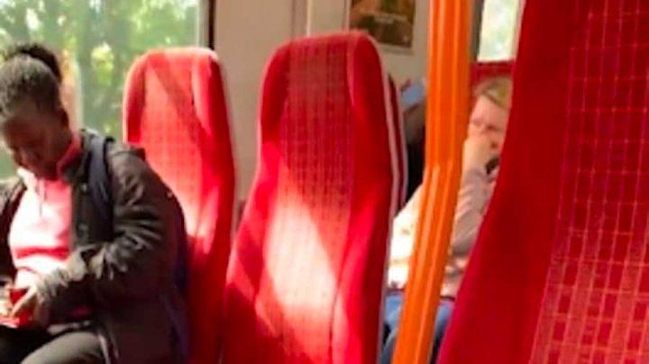 conducteur de train diffusion son film pornographique