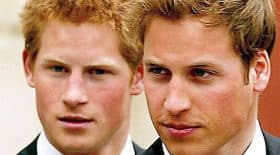 Le Prince William et Harry
