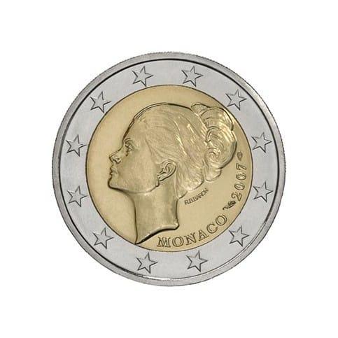 2 euros grace kelly