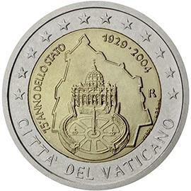 2 euros vatican