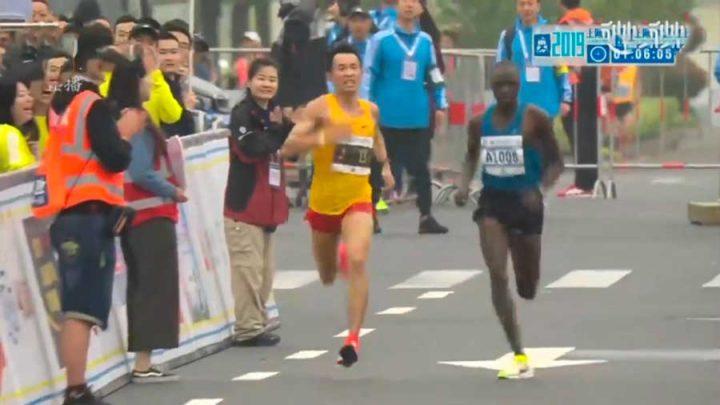 marathon diarrhée gagnant