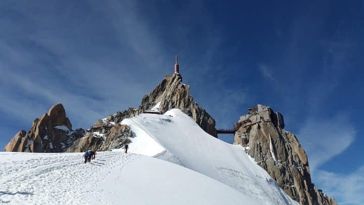 Mont blanc tourisme de masse