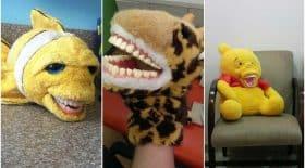 Peluches dentiste