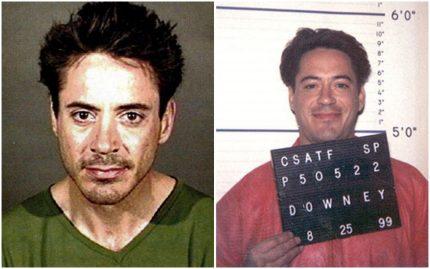 Robert Downey Jr prison