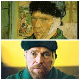 Autoportrait de Van Gogh et Willem Dafoe