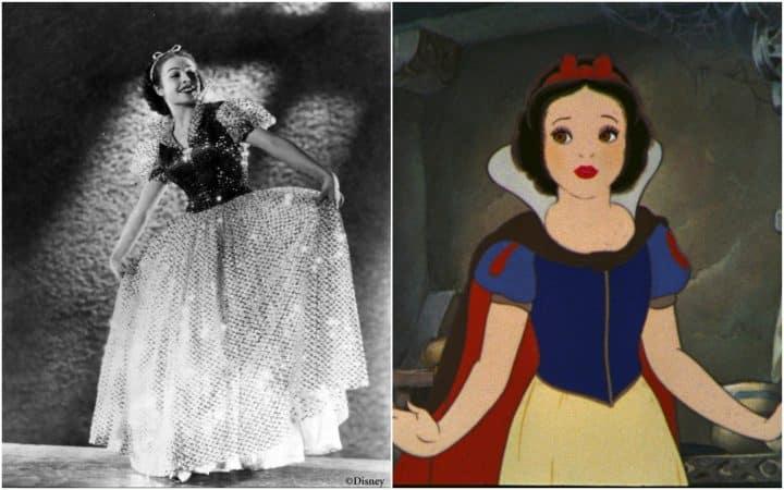 Blanche Neige stars Disney