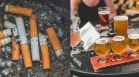 cigarettes et alcool