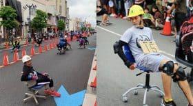 course de chaises