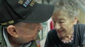 Histoire d'amour soldat américain et française