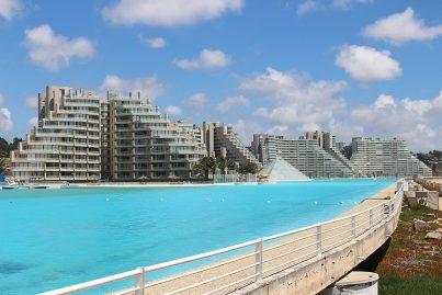 D couvrez la plus grande piscine du monde d 39 un kilom tre de long - La plus grande piscine du monde ...
