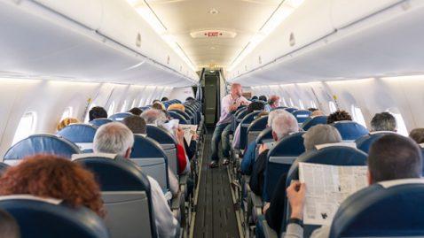 Une véritable histoire insolite dans un avion