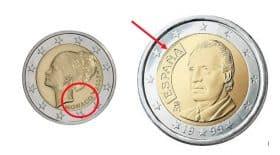 pieces 2 euros rares