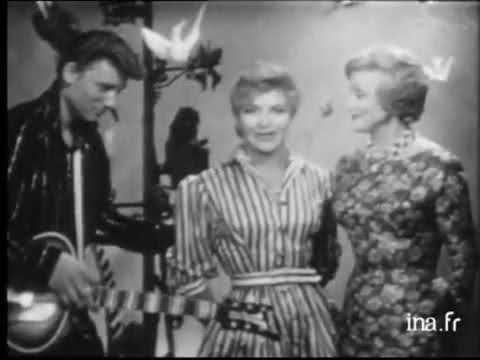Johnny Hallyday et Line Renaud