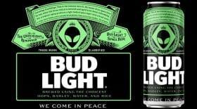 Aliens Bud Light